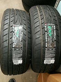 Set of 2 Yokohama 245/55 R19 tires Milford, 06460