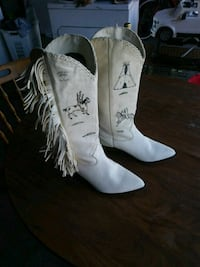 Indian style boots