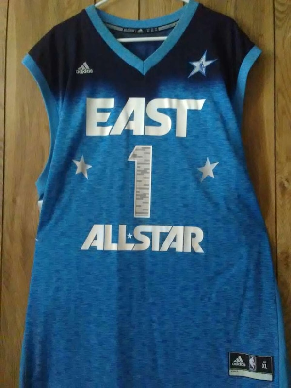 brand new 4915e 6408a Derrick Rose 2012 All-Star jersey