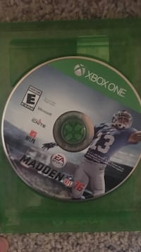 EA Sports Madden NFL 16 Xbox One game disc Lubbock, 79424