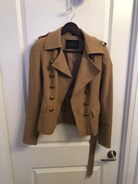 Rachel Zoe Tan Military Jacket - Authentic Toronto