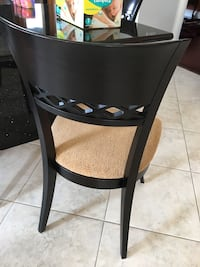 Chairs. High end solid wood chairs. Paid over $400 ea. 8 chairs for $525 Caledon, L7E 4H7