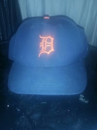 Fitted Detroit hat