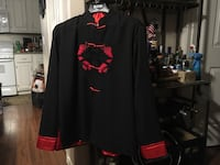 Black and red long sleeve tops Las Vegas, 89101