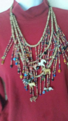 Vintage  necklace thought to be of African origin