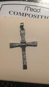 silver-colored cross pendant King City, 93930