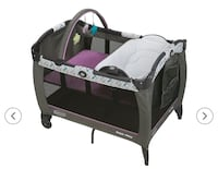 Baby's black and gray graco pack n play Pomona, 91767