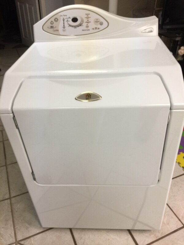 Maytag  front-load clothes washer & gas dryer
