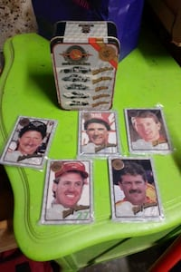 Winston Cup champions 25th anniversary trading cards