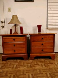 Nice 2 wooden big night stand with big drawers in  Annandale, 22003