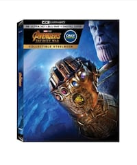 Avengers Infinity War LIMITED EDITION Steelbook. $80 obo   Mississauga, L4W 2V1