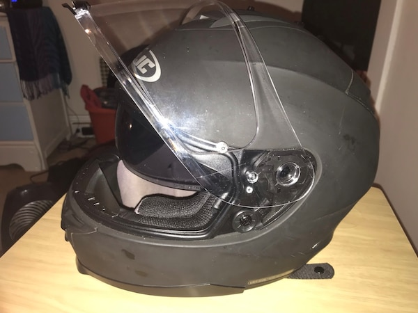 HJC IS-17 Matte Black Motorcycle Helmet e67e1149-a587-43d3-ab2d-0b32ac19809f