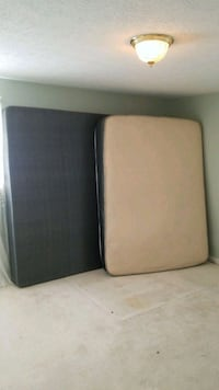 two black and brown mattresses 44 km