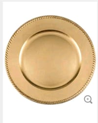 Gold plate charger Woodbridge Township, 07001