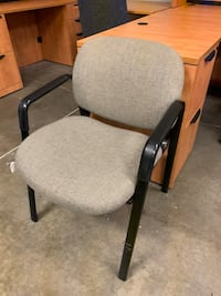 Grey Stacking Office Chair