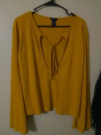 Mustard yellow shirt 3x perfect condition Melbourne, 32935