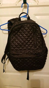 Mossimo Black Quilted Backpack