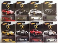 Hot Wheels Lamborghini Complete Set of 8 Oklahoma City