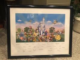Disney framed print