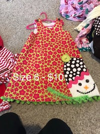 Size 6 Snowman outfit Plano, 75074