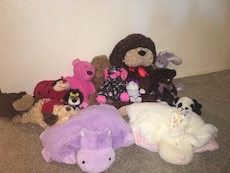 Assortment of stuffed animals!