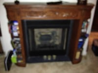 Electric Fire Place facade ASHBURN