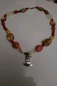 brown and red beaded necklace Greeneville, 37745