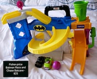 Like New Fisher-price Race and Chase Batcave - $25 Toronto, M9B 6C4