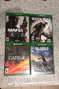 Xbox One Bundle: Mafia 3; Watch Dogs; Final Fantasy 15; Project Cars 4 Fairfax, 22030