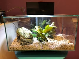 Fluval 6 gallon fish tank, barely used