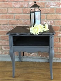 SALE!!  French Provincial Style End Table Painted Vintage Houston