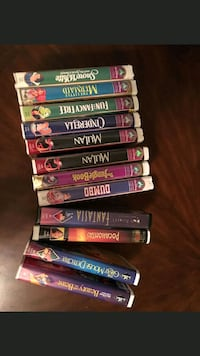 Walt Disney collectable VHS tapes Moore, 73160