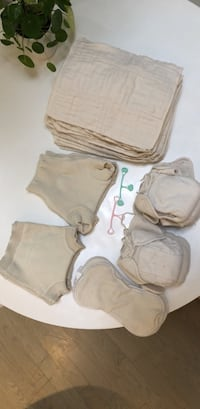 Natural baby cloth diapers from Germany, barely used Toronto, M4T 1A5