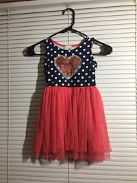 women's red and white polka dot sleeveless dress Hagerstown, 21740