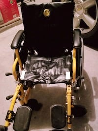 black and yellow rollator walker El Paso, 79936