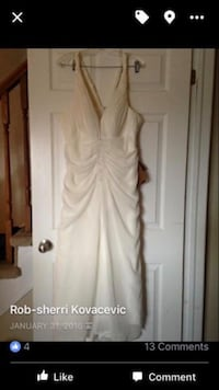 BNWT ivory wedding dress