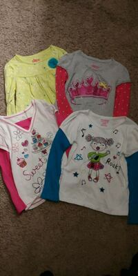 11 ELEVEN LONG SLEEVE'S GIRL SIZE 5/6 Oklahoma City, 73162