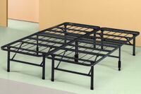 black metal bed frame and white mattress Mc Lean, 22102