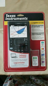black and gray Texas Instruments TI-84 Plus CE Cypress, 90630