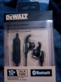 Dewalt bluetooth jobsite wireless earphones