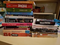 Buch, DVD, Black stories, wii Spiel