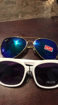 silver framed Ray-Ban aviator sunglasses Los Ángeles, 91367