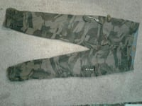 black and gray camouflage pants Surrey, V3W 3H3