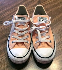 Pastel orange Converse All Star low-top sneakers Chesterfield, 63017