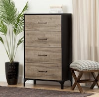 Tan Oakwood Stylish Chest