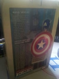 Captain America Slideshow Collectibles 2006 Downey, 90241