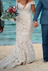 Wedding dress by allure