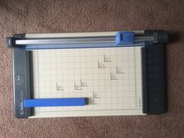 Heavy Duty Paper Cutter Trimmer Perforator