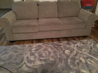 Gray fabric 3-seat sofa Pflugerville, 78660