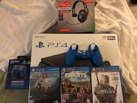 Sony ps4 console with controller and game cases Jersey Village, 77040